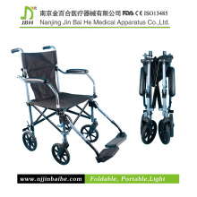 Lightweight Aluminum Folding Manual Wheelchair for Disabled